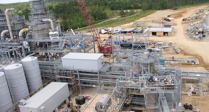Tetra Technologies Calcium Chloride Plant Project