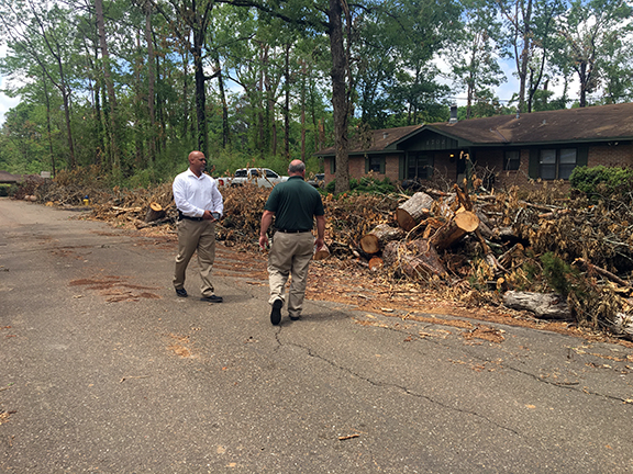 HGA Program Management Team Helps City of Ruston in Aftermath of Tornado