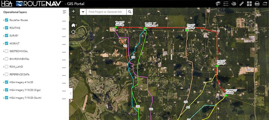 Aethon, Sligo to Wiggins Pipeline Route Analysis wins ACEC Honor Award